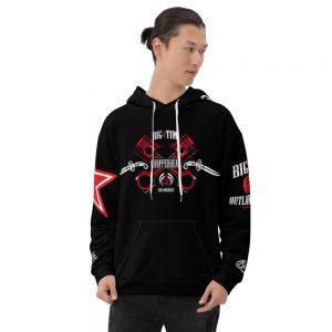 Black-n-Red-ChopperHead-Front